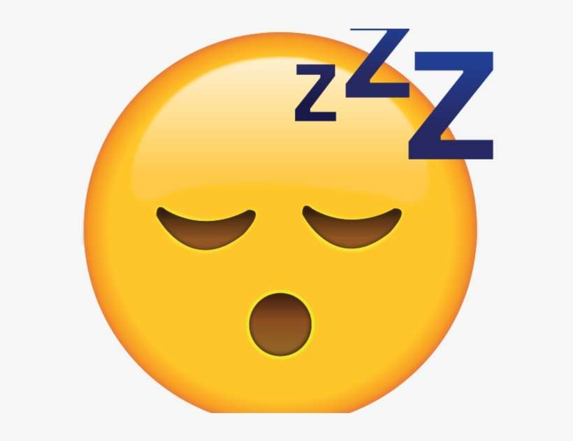 Sleeping Emoji Transparent - Whatsapp Emoji Bored@seekpng.com