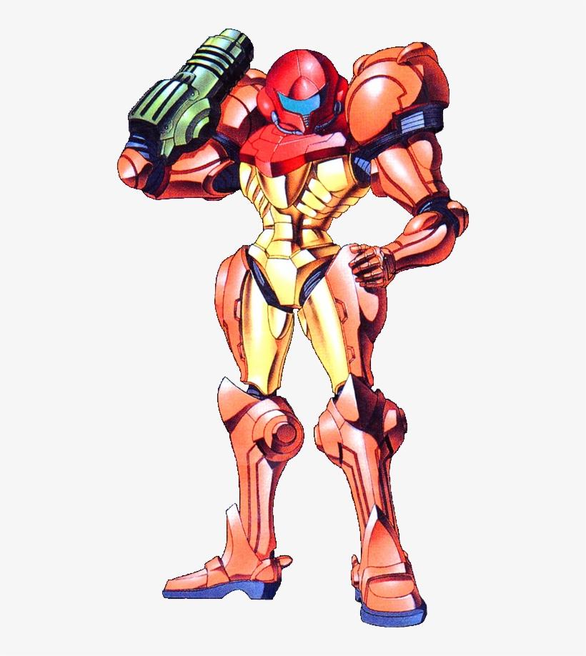 Samus Aran Varia Suit From Metroid Samus Varia Suit Super