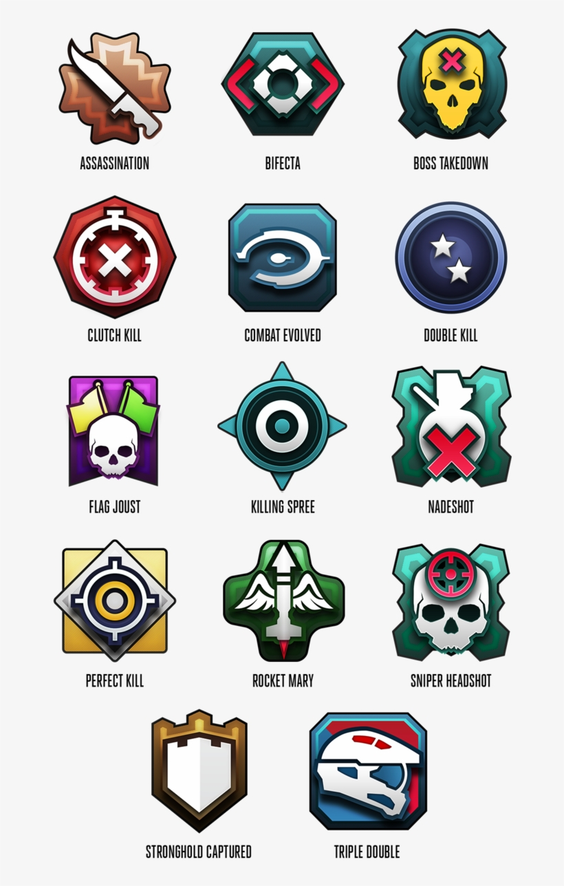 2952209 Medals Halo 5 Double Kill Medal Png Image Transparent