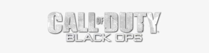 Call Of Duty Black Ops Black Ops 1 Logo Png Png Image