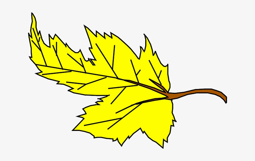 Fall Yellow Leaf Cartoon Plant Falling Leaves Yellow Leaf Clipart Png Image Transparent Png Free Download On Seekpng