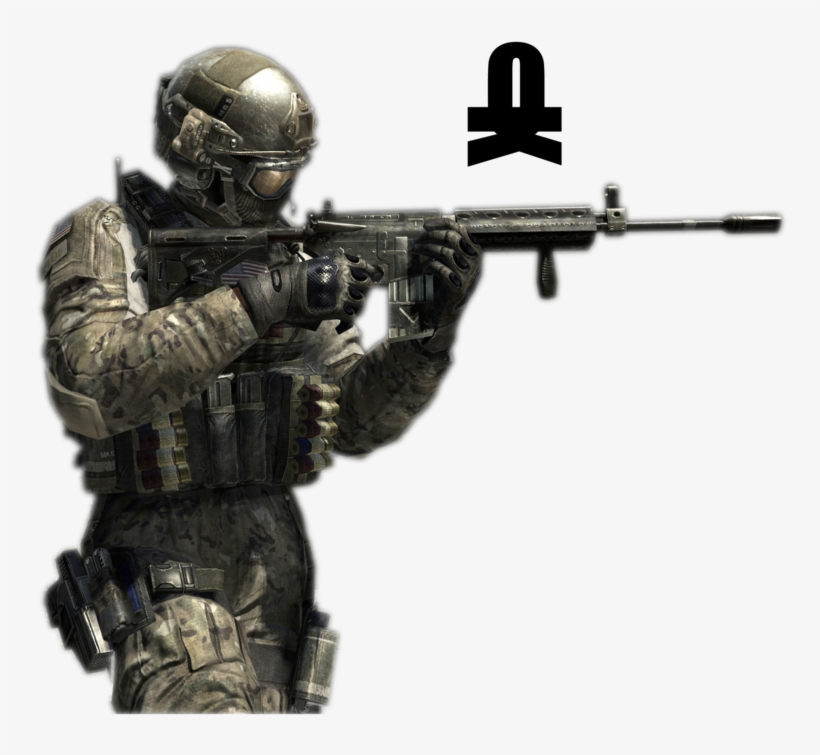 Mw3 Sniper Png Picture Black And White Library Call Of Duty