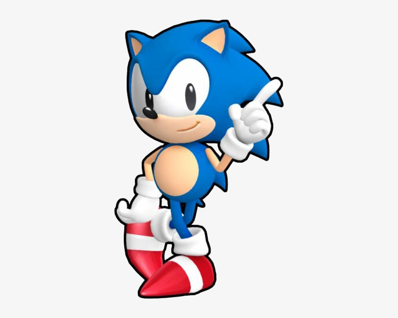 Sonic Runners Classic Sonic Classic Sonic The Hedgehog Png Image Transparent Png Free Download On Seekpng