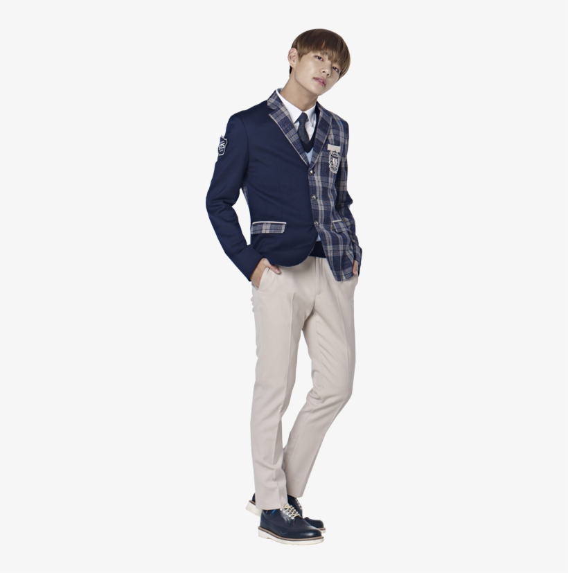 Bts For Smart School Uniform [161125] - Kim Taehyung In