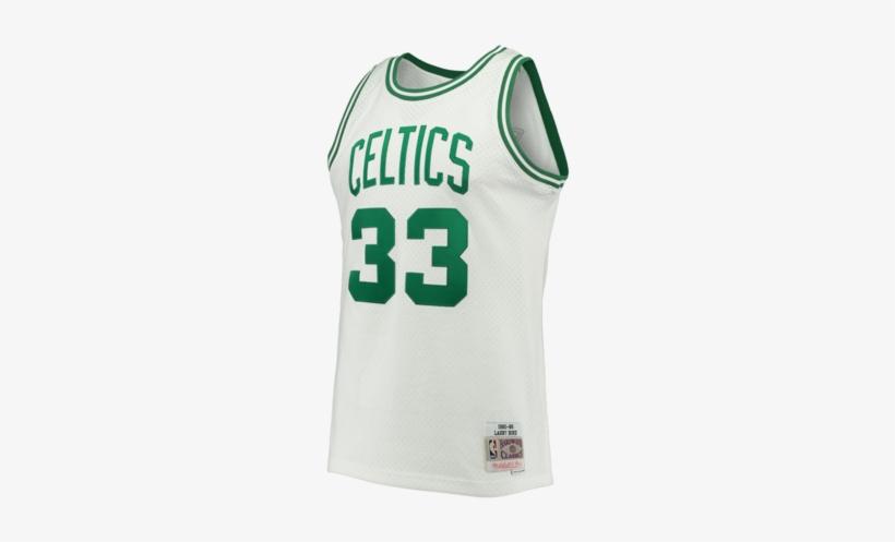 Boston Celtics White Swingman Larry Bird Jersey Png Image Transparent Png Free Download On Seekpng