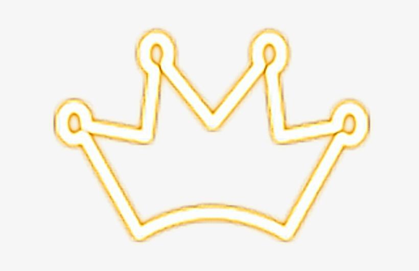 Crown King Queen Kween Yellow Gold Neon Light Goldcrown Queen