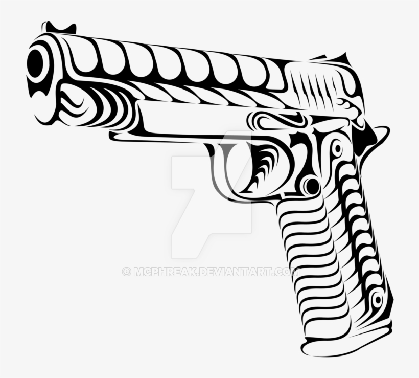 Gun Tattoo Drawing At Getdrawings