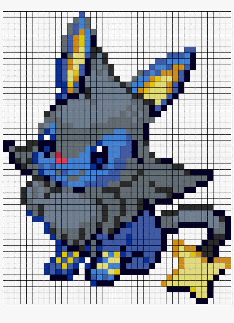 Eevee And Luxio Fusion Pixel Art Pokemon Evoli Fusion Png