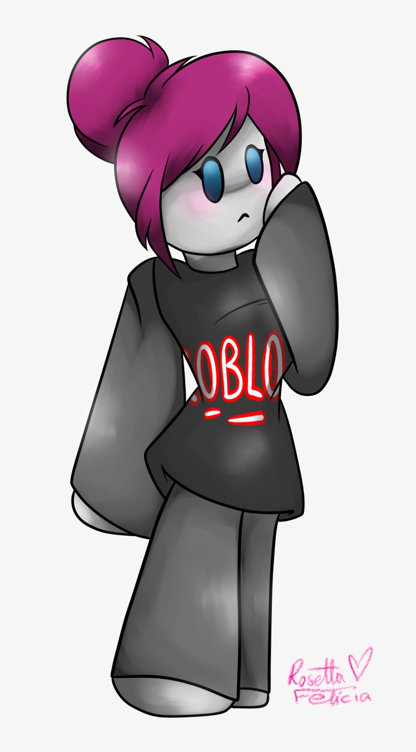Roblox Character Bacon Hair Girl Roblox 28 Collection Of Roblox Drawings Guest Cute Roblox Guest Girl