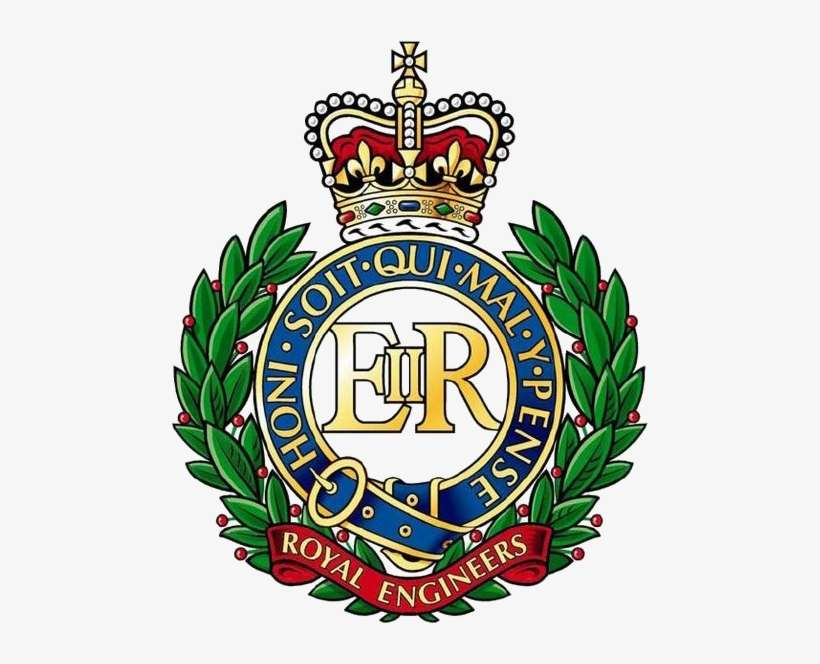Royal Engineers - Royal Engineers Logo@seekpng.com