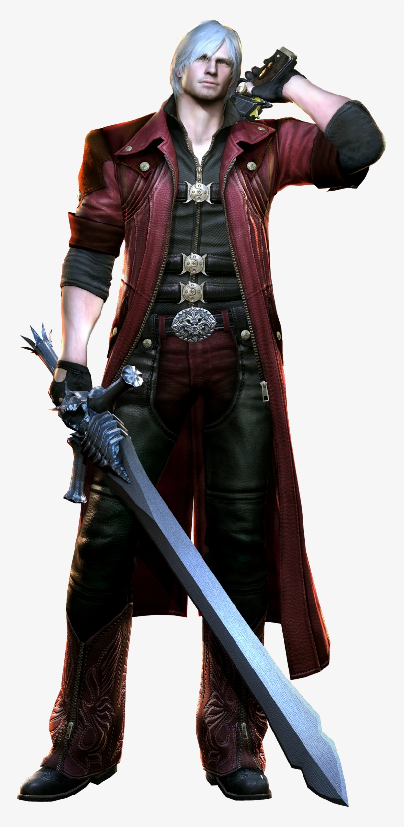 Devil May Cry 4 Dante Png Png Transparent Stock Devil May