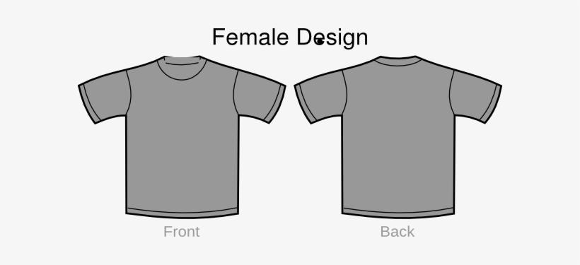 gray t shirt outline