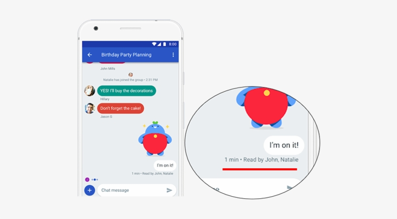 Read Your Text Message On Android - Google's New Chat