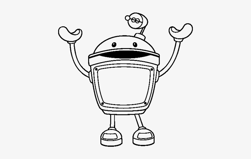 Team Umizoomi Bot - Team Umizoomi Bot Coloring Pages PNG Image ...