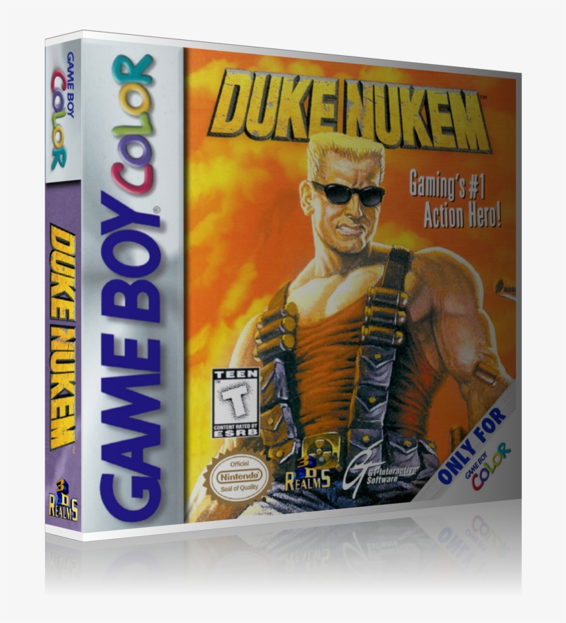 duke nukem gameboy color