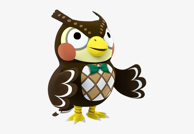 Animal Crossing Characters Png Blathers Animal Crossing Amiibo