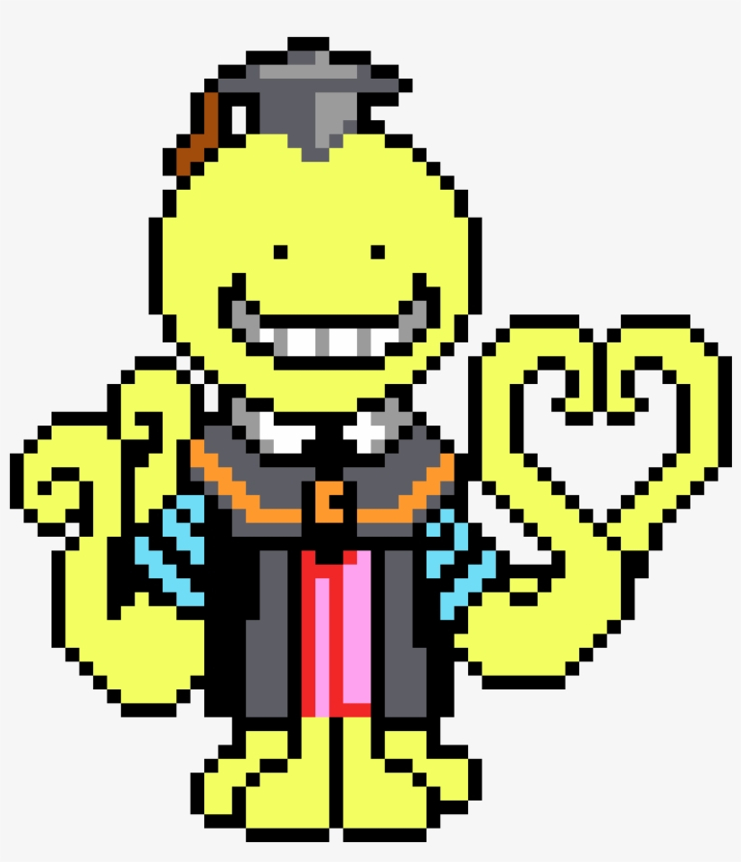 Assassination Classroom Koro Sensei Pixel Sprite Pixel Art