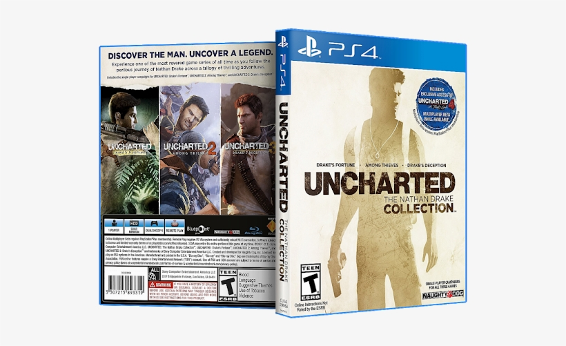 Capa Uncharted The Nathan Drake Collection Ps4 Sony Uncharted