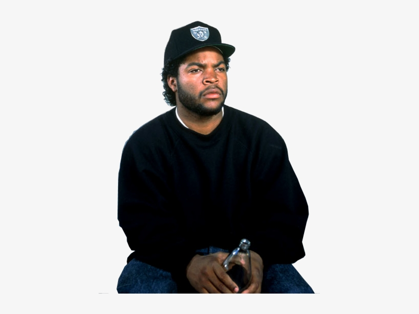 Ice Cube Is The Godfather Of Gangsta Rap - Ice Cube 90s PNG Image
