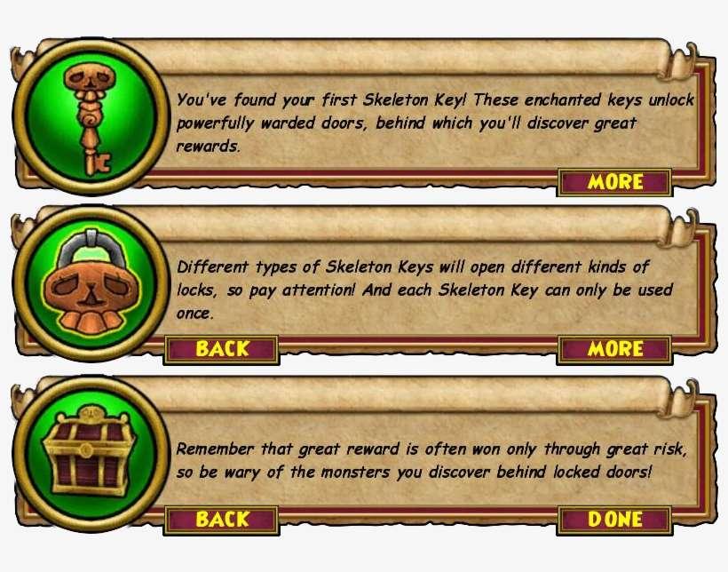 Wizard101 Skeleton Key Guide - Wizard101 Death Spells PNG Image