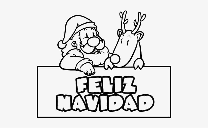 Tarjetas De Felíz Navidad Para Pintar Y Dedicar Letras Feliz