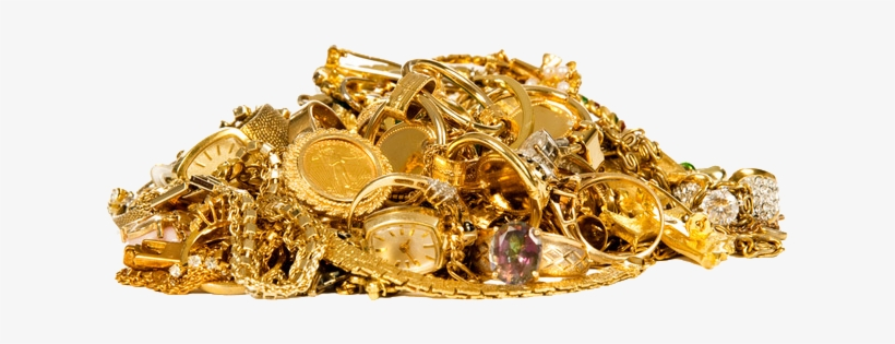Gold Pile Png Pile Of Gold Jewelry Png Image Transparent Png Free Download On Seekpng