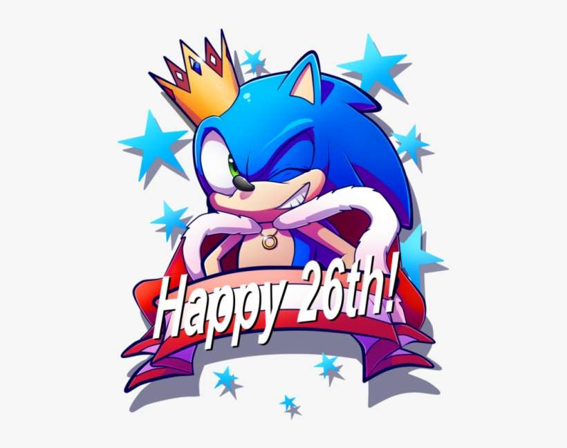Happy Birthday Sonic 3 Sonic The Hedgehog Happy Birthday Png Image Transparent Png Free Download On Seekpng