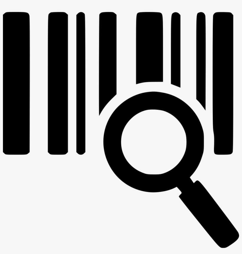 Barcode cute. Clip art black and