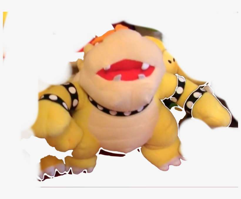 Shitty Chinese Knockoff Bowser - Stuffed Toy PNG Image