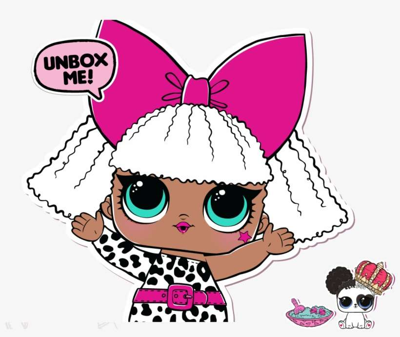 image about Lol Dolls Printable named The Delighted World-wide Of Mischievous Infants l - Lol Ponder