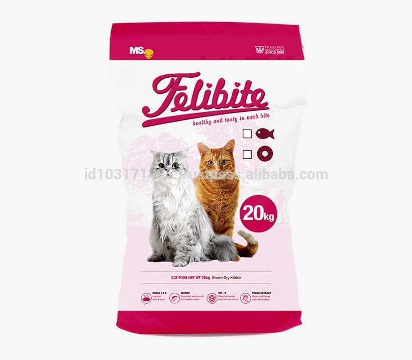 Best Quality Cat Food Dry Pet Food Animal Food Felibite Makanan Kucing Felibite Png Image Transparent Png Free Download On Seekpng