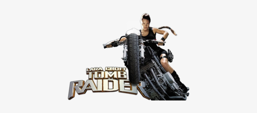 Tomb Raider Movie Image With Logo And Character Lara Croft Tomb