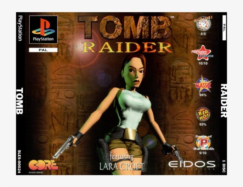 Tomb Raider Cover Art Tomb Raider Game Original Png Image