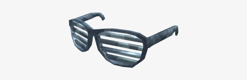 22c5d28f9236 Bluesteel Shutter Shades - Roblox All Shutter Glasses PNG Image ...
