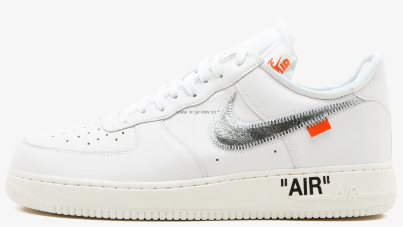 big sale 5c435 bd920 Beautiful Nike Air Force 1 07 Off Whitecomplex Con - Nike Air Force 1 Off  White Png