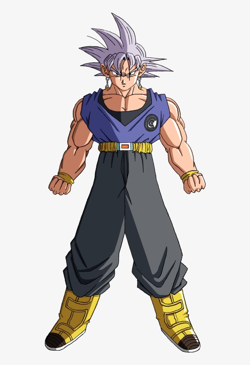 Trunks Vs Goku Black Drawing