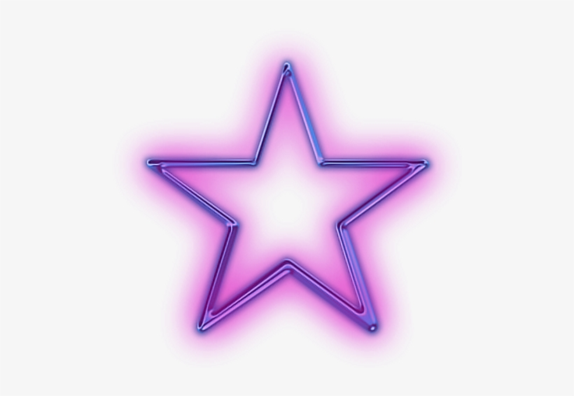 Star Purple Glowing Neon Snapchat Glowing Neon Star Png Png Image Transparent Png Free Download On Seekpng