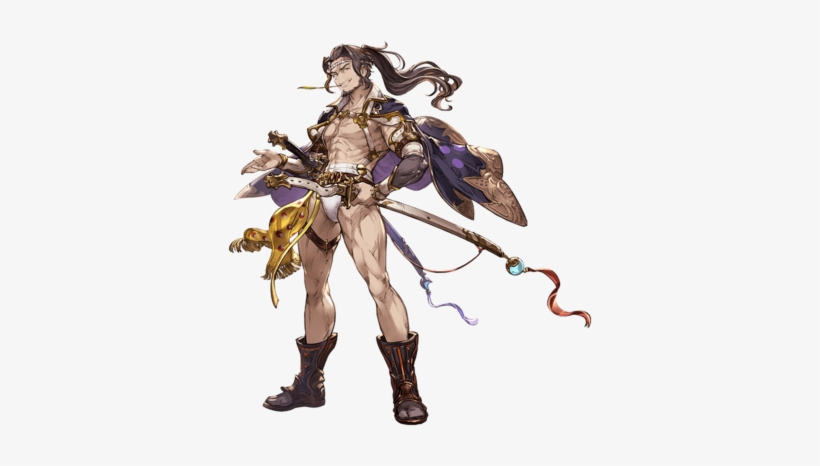 Jin A Granblue Fantasy Male Characters Png Image Transparent