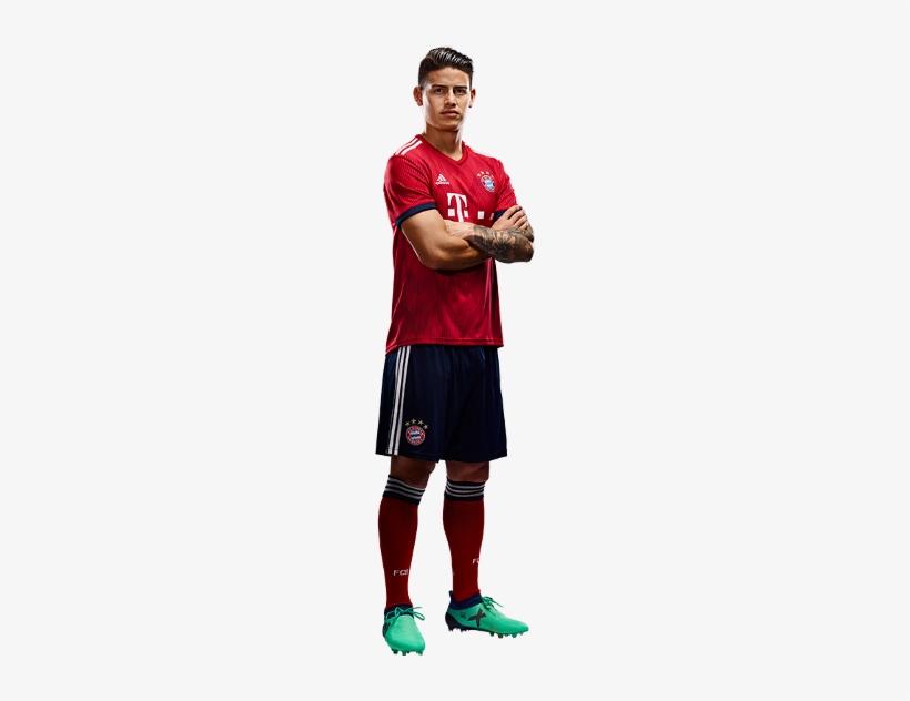 James Rodriguez James Rodriguez Bayern 2018 Png Image Transparent Png Free Download On Seekpng