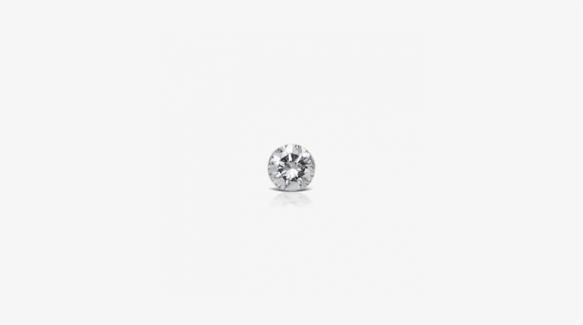 5mm Invisible Set Diamond Threaded Stud Image Ear Piercing