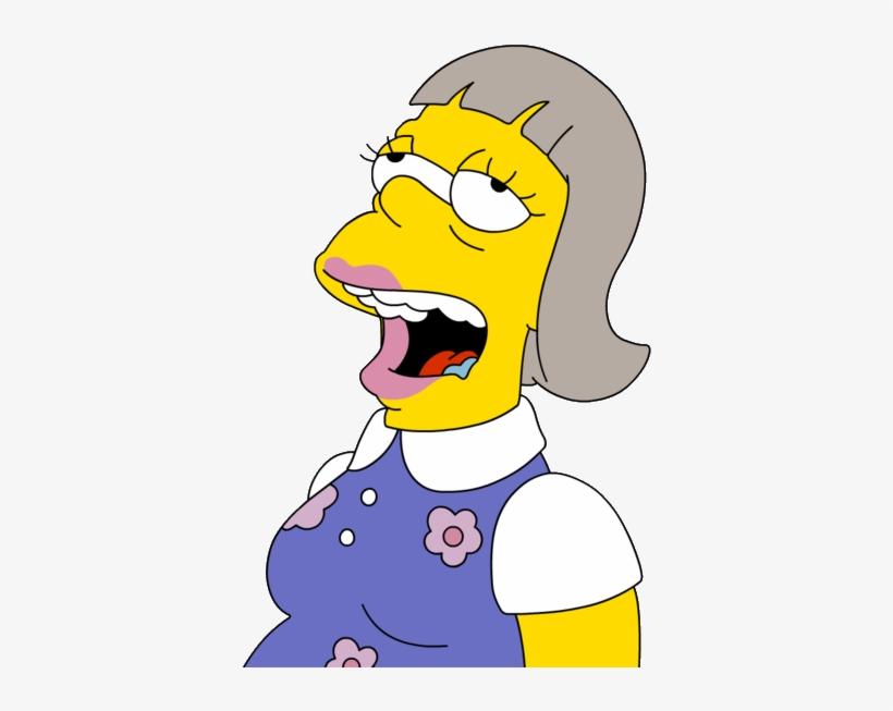 Abbie - Hermana De Homero Simpson@seekpng.com