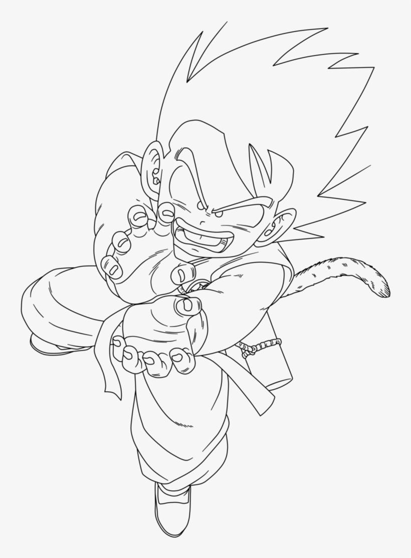 Goku Krillin Bardock Goten Master Roshi Kid Goku Drawing