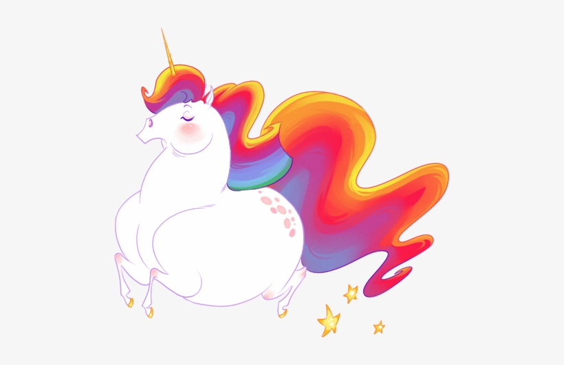 Oooh I Searched For Fat Rainbow Unicorn And Found Fat Unicorn