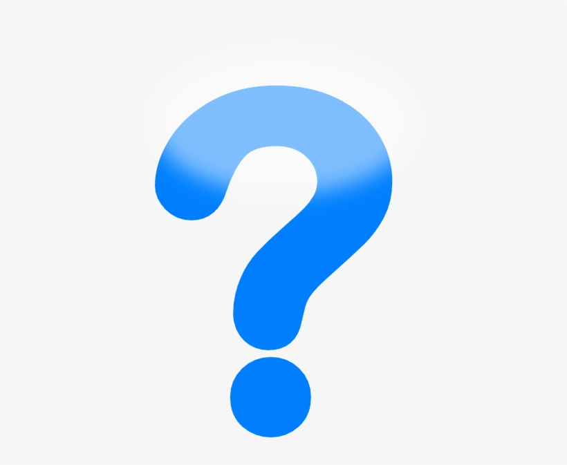 Funny Question Mark Clip Art - Blue Question Mark Clip Art PNG Image |  Transparent PNG Free Download on SeekPNG