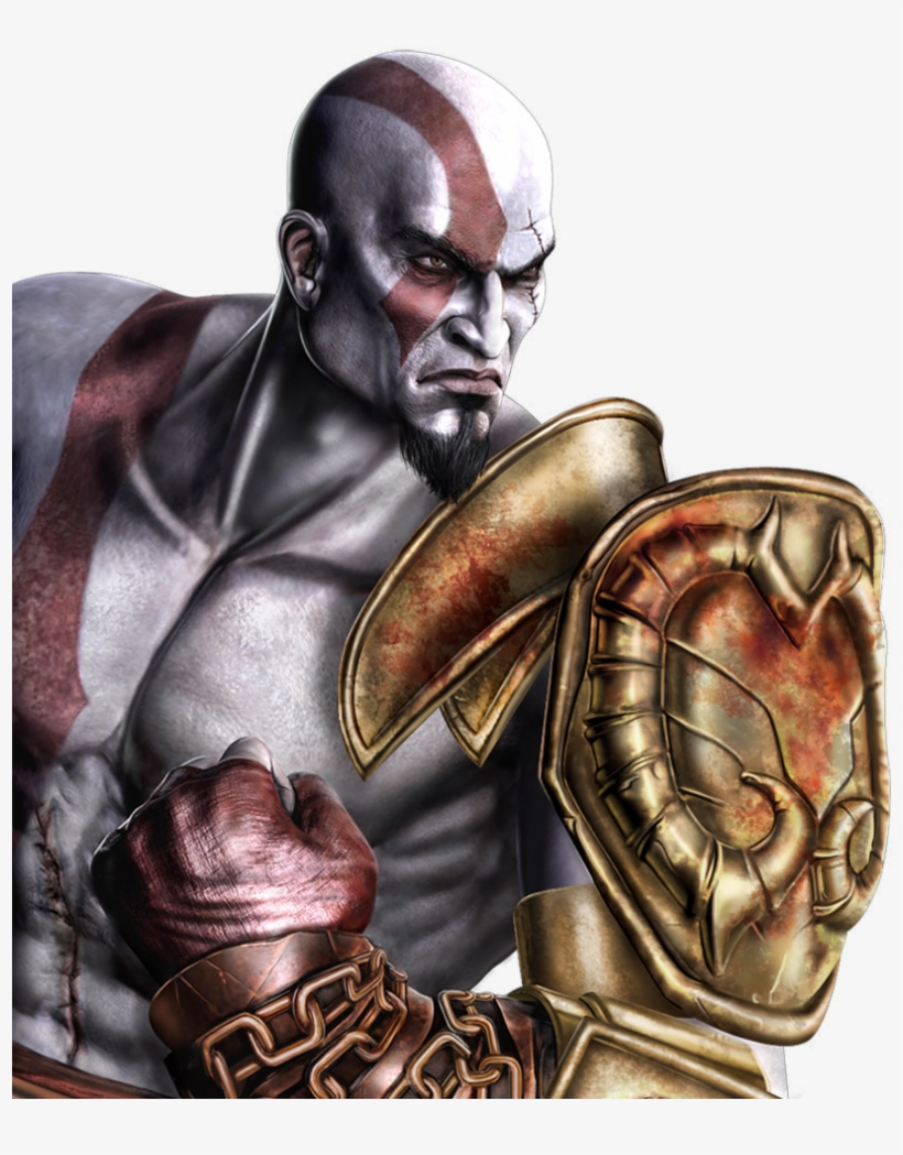 Go Up - Fatality Mortal Kombat 9 Ps3 Kratos PNG Image | Transparent