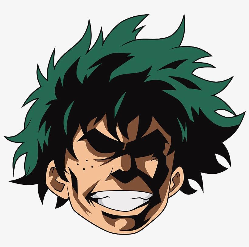 Deku Discord Emoji - My Hero Academia Discord Emoji PNG Image