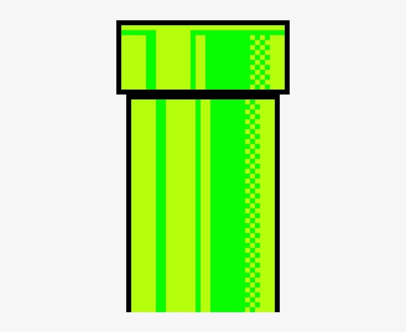 Super Pixel Art Maker Super Mario Pipe 8 Bit Png Image
