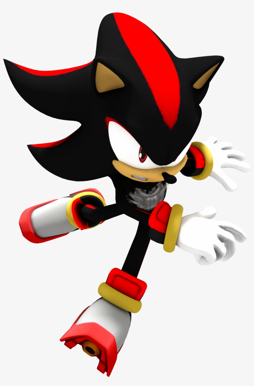 Sonic The Hedgehog Png Shadow The Hedgehog 3d Png Image Transparent Png Free Download On Seekpng