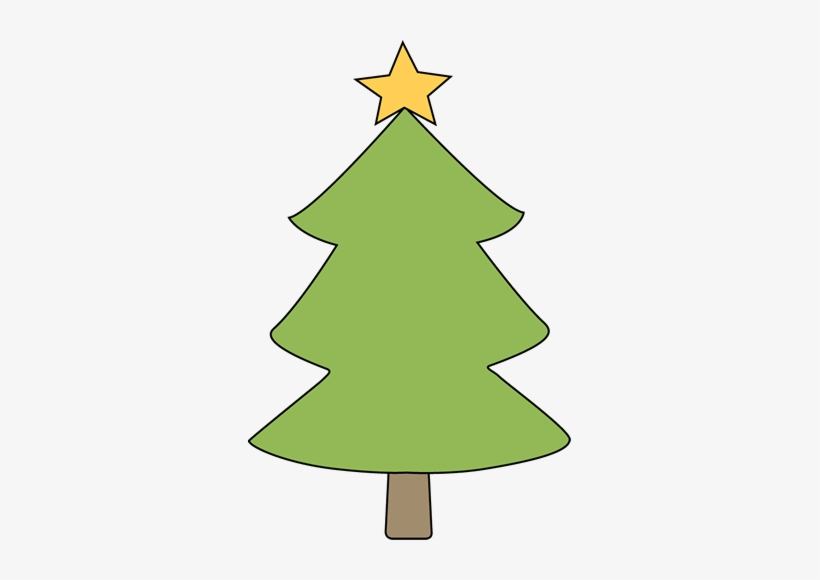 Christmas Tree Clipart Blank PNG