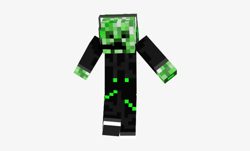 Minecraft Creeper In A Hoodie Skin Download Minecraft Creeper Face Png Image Transparent Png Free Download On Seekpng